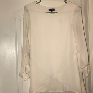 Sheer layered blouse